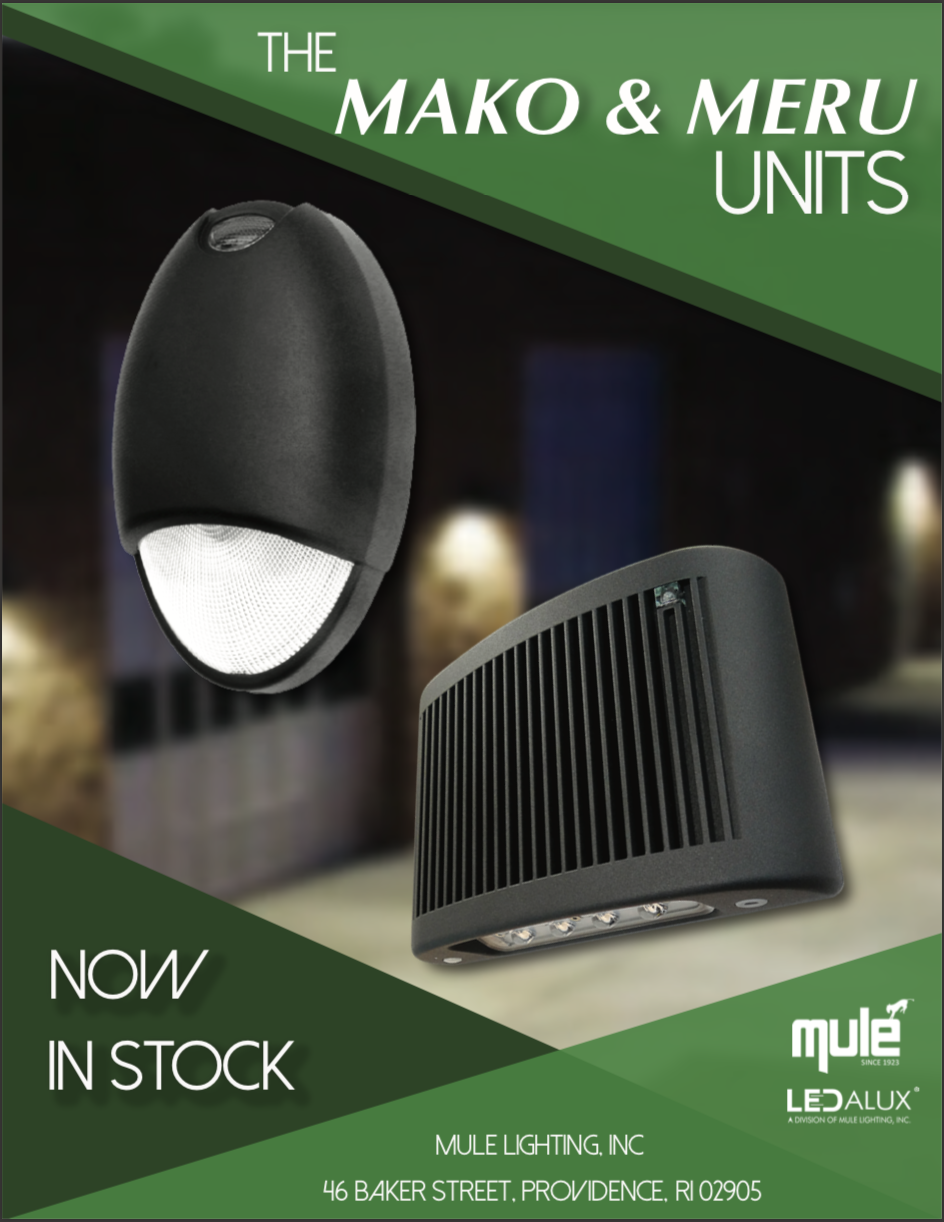 Mule Lighting Mako/Meru Sales Flyer Literature