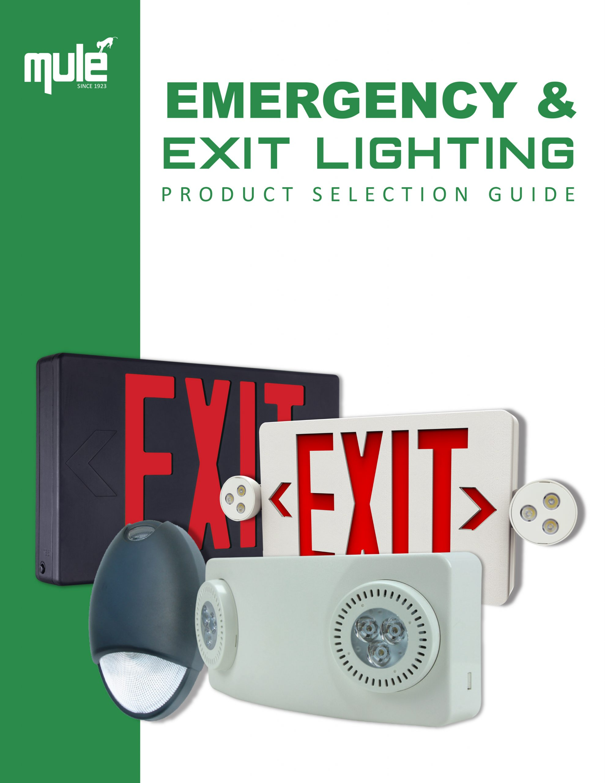 Mule Lighting Product Selection Guide E-Catalog Literature